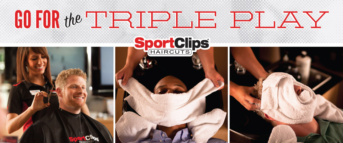 The Sport Clips Haircuts of Commerce City - Reunion Marketplace  Triple Play